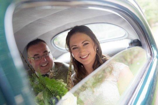 Jess on her wedding day