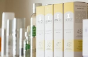 Some of the IMAGE Skincare cosmeceutical product range