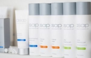 Some of the asap cosmeceutical product range