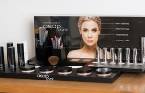 The asap Mineral Makeup range